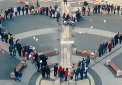 Szív a Kossuth téren