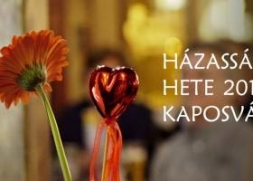 Házasság Hete 2018 - Kaposvár